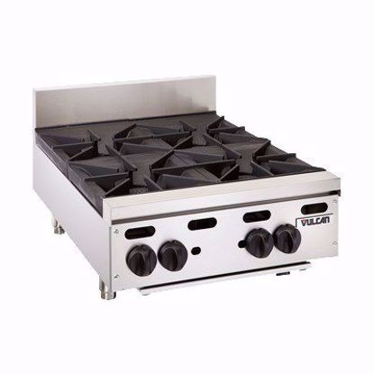 Picture of Vulcan VHP424 Hotplate, Countertop, Gas