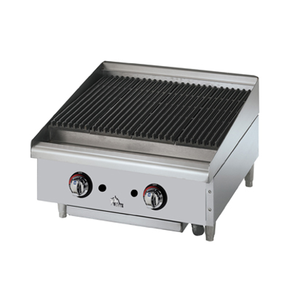 Picture of Star 6024CBF Charbroiler, Gas, Countertop
