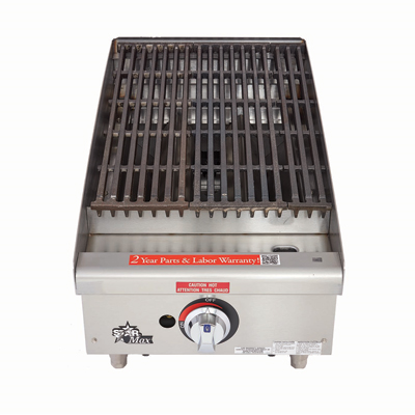 Picture of Star 6115RCBF Charbroiler, Gas, Countertop