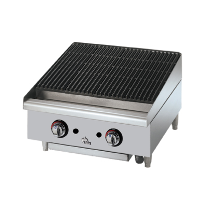 Picture of Star 6124RCBF Charbroiler, Gas, Countertop