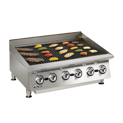 Picture of Star 8136RCBB Charbroiler, Gas, Countertop