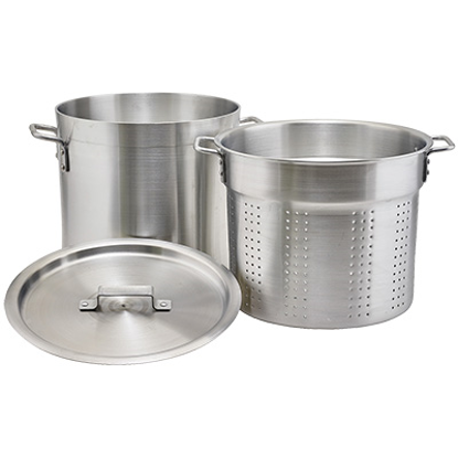 Picture of Winco ALDB-20S Double Boiler Steamer Set