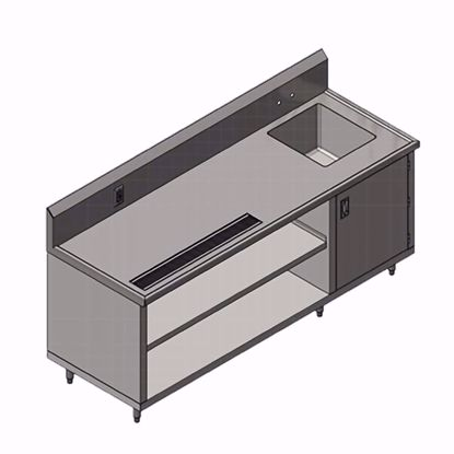 Picture of John Boos 4CB4R10-3096-R Beverage Counter