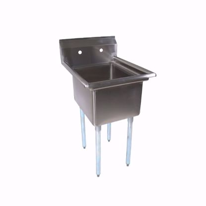 Picture of John Boos   E1S8-1620-12-X   One (1) Compartment Sink