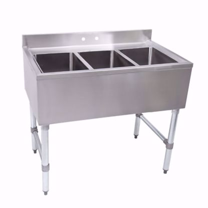 Picture of John Boos EUB3S40-X Underbar Sink Units