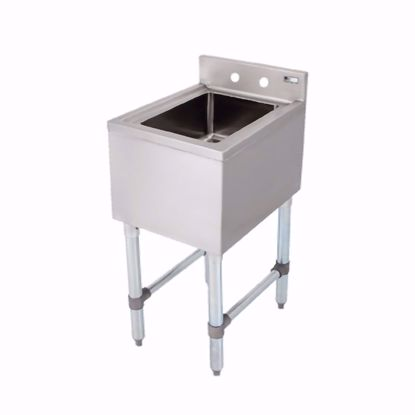 Picture of John Boos EUBDS-1014-SL-X Underbar Sink Units