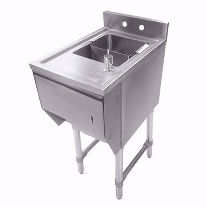 Picture of John Boos EUBDS-1221STD-X Underbar Sink Units