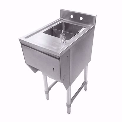 Picture of John Boos EUBDS-1518STD-X Underbar Sink Units
