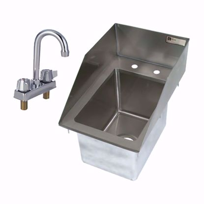 Picture of John Boos   PB-DISINK101410-P-SSLR-X   Drop-In Sink Bowls