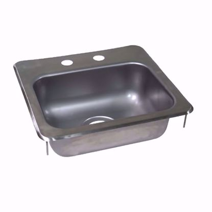 Picture of John Boos   PB-DISINK151506   Drop-In Sink Bowls