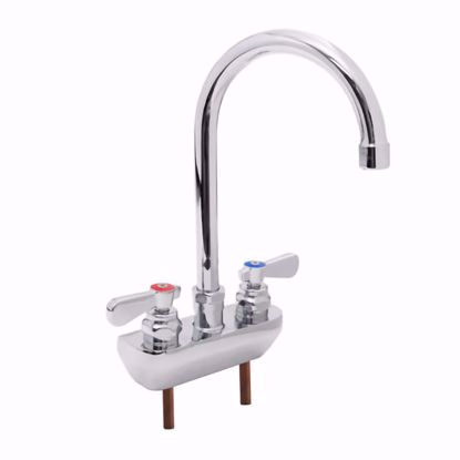 Picture of John Boos   PBF-4SM2-5GLF-X   Wall / Splash Mount Faucet