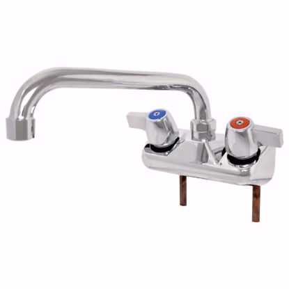 Picture of John Boos   PBF-W2-8LF-X   Wall / Splash Mount Faucet