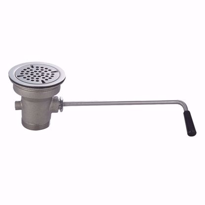 Picture of John Boos   PB-LWR-1OV   Drain, Lever / Twist Waste