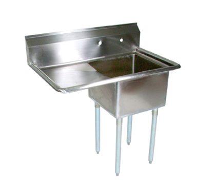 Picture of John Boos   E1S8-1824-14L24-X   One (1) Compartment Sink