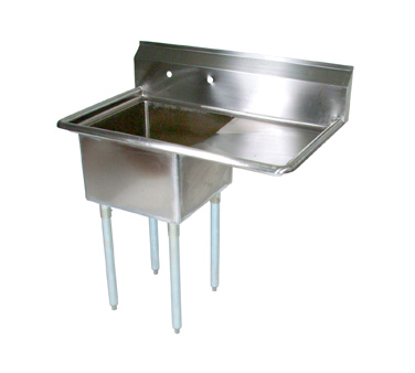 Picture of John Boos   E1S8-1824-14R24-X   One (1) Compartment Sink