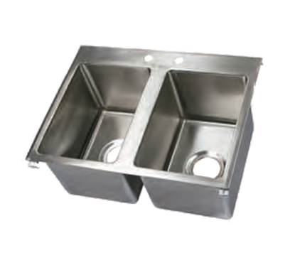 Picture of John Boos   PB-DISINK101410-2-X   Drop-In Sink Bowls