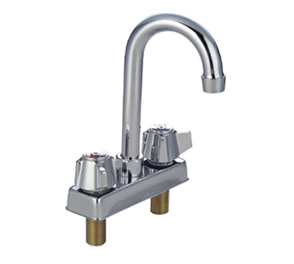 Picture of John Boos   PBF-4-D-LF-X   Deck Mount Faucet