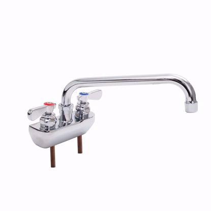 Picture of John Boos   PBF-4SM2-10LF-X   Wall / Splash Mount Faucet