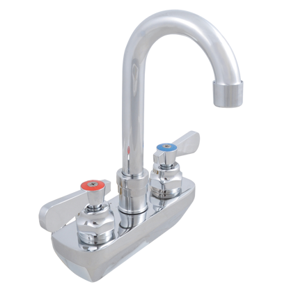 Picture of John Boos   PBF-4SM-3GLF-X   Wall / Splash Mount Faucet