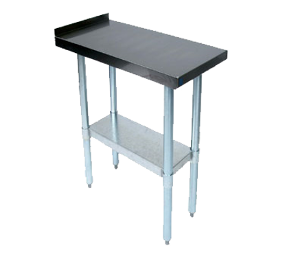 Picture of John Boos EFT8-3624-X Work Table, Stainless Steel Top