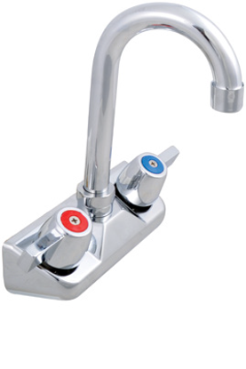 Picture of John Boos   PBF-W2-3GLF-X   Wall / Splash Mount Faucet