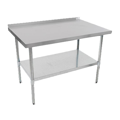 "Picture of John Boos UFBLG2424-X Work Table, 24"", Stainless Steel Top"
