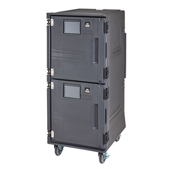 Picture of Cambro PCUHC615   MOBILE HEATED CABINET