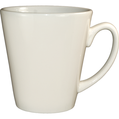 Picture of International TablewareTulsa Funnel Cup  American White - Vitrified  3 5/8  In. D  3 7/8  In. H13 OzMugs  and   Saucers - American White