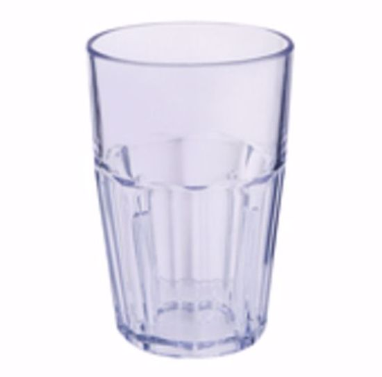 Picture of Get Enterprises	Clear	Bahama  Tumblers	10 Oz. (12.4 Oz. Rim-Full)  3.13 In.  Double Rocks  4.75 In.  Tall	San