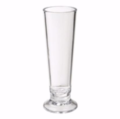 Picture of Get Enterprises	Clear	Specialty Drinkware	2 Oz. (2 Oz. Rim-Full)  1.5 In.  Pilsner Shot Glass  4.5 In.  Tall	San