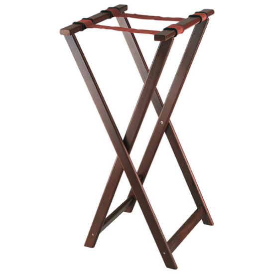 Picture of Browne Mahogany Finish Wood Tray Stand