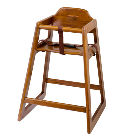 Picture of Browne Walnut Finish Wooden Highchair - Unassembled