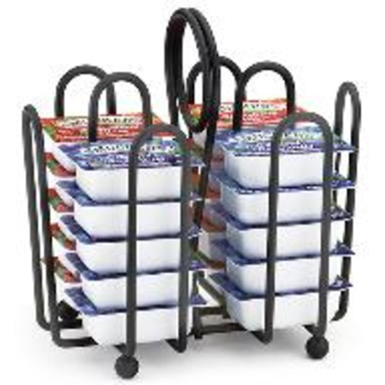 Picture of Tablecraft Black Jelly Packet Rack  Fits Packets up to 2 x 1.5 inch(es)