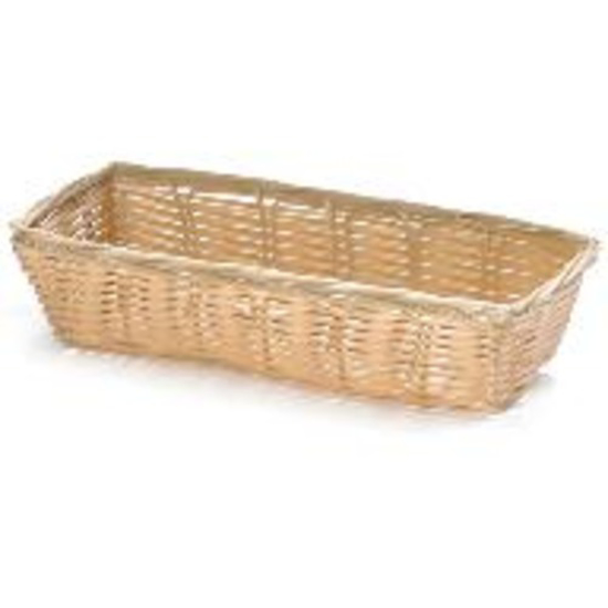 Picture of Tablecraft Handwoven Rectangular Basket  Natural  9 x 3.5 x 2 inch(es)
