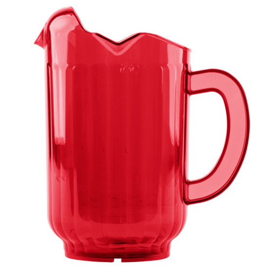 Picture of Vollrath Pitcher  Tuffex I Deluxe Rubyr
