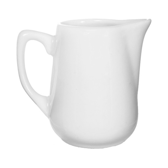 Picture of International Tableware	Creamer  4  In. 	6 Oz	Bright White Accessories  Contemporary Accessories