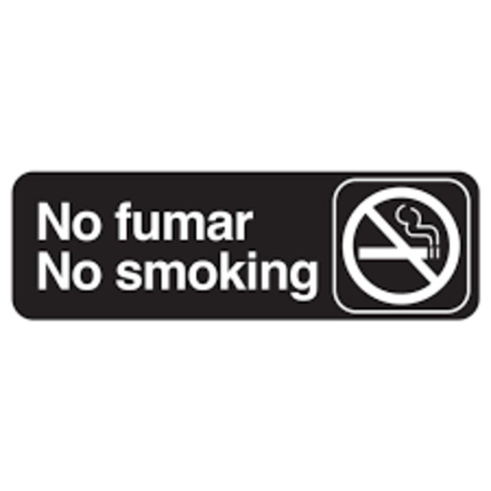 Picture of Tablecraft Sign Smoking Permitted In Des