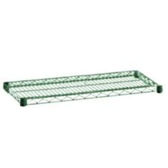 Picture of Crown Brands 	24 In.  X 48 In.  Green Epoxy Wire Shelf