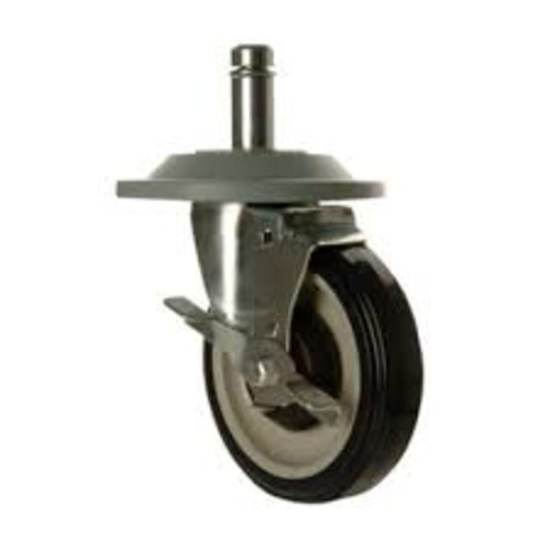 Picture of Crown Brands 	5 In.  Swivel Stem Caster With Brake  and  Bumper