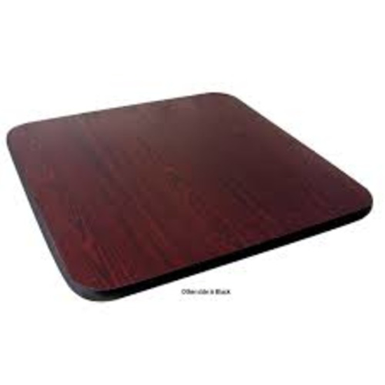 Picture of Crown Brands 	Table Top  Reversible (Mahogany/Black)  30 In.  X 42 In.   1 In.  Thick