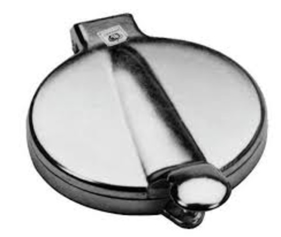 Picture of Crown Brands Hamburger Press  5 In. Dia.  1/4 In. Thick Maximum Patty.  Cast Aluminum
