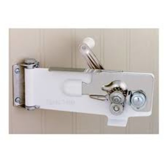 Picture of Crown Brands Magnetic Wall Can Opener - White