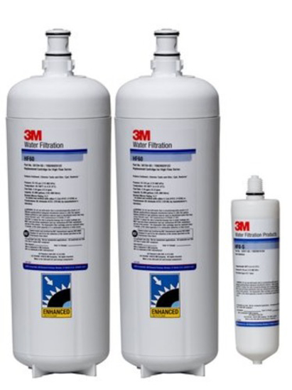 Picture of 3M Purification Replacement Water Filter Cartridge Cartpak Dp260  5613814  6.68 Gpm  70000 Gal  .2 Um Nom  1/Case