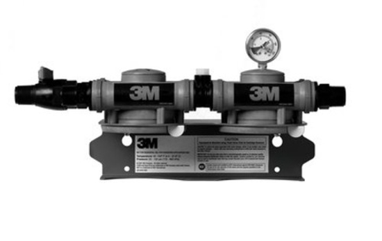 Picture of 3M Purification Water Filtration Products Twin Manifold Assembly
