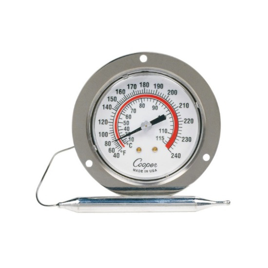 Picture of FEB Front Flange Back Connect Panel Thermometer
