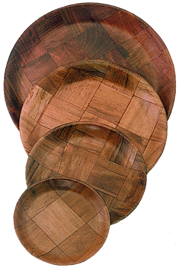 Picture of UPDATE INTERNATIONAL   Woven Wood Salad Plate