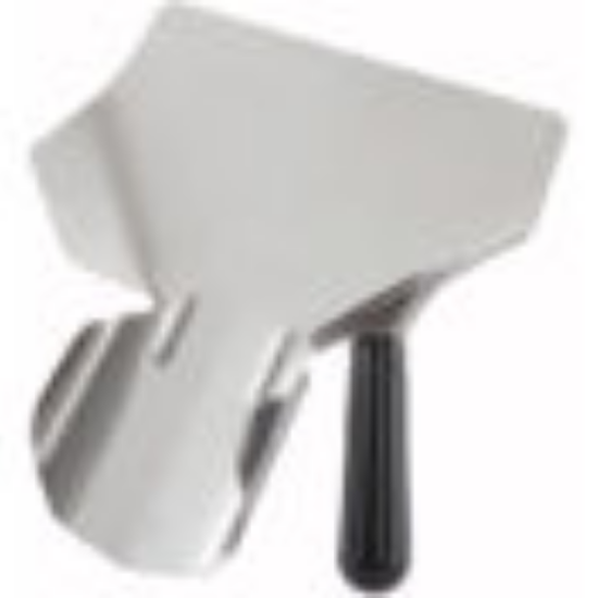 Picture of Winco French Fry Bagger Right Handle Black Bakelite Handle 201 Stainless Steel