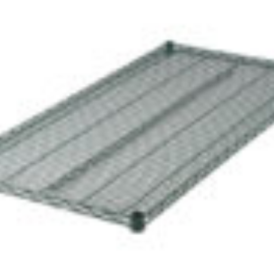 Picture of Winco Shelf 54  inches X 24  inches Includes (4) Sleeve Clips Per Shelf Wire Epoxy Coated Green