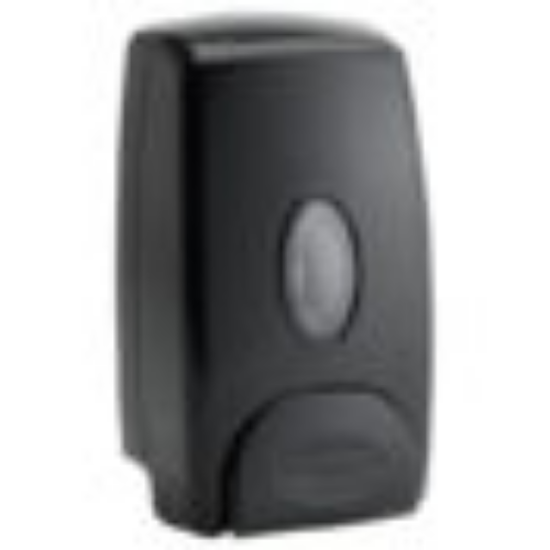 Picture of Winco Soap Dispenser 1 Liter Capacity Wall Mount Manual Black