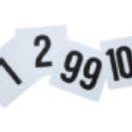 Picture of Winco Table Numbers Set Each Set In